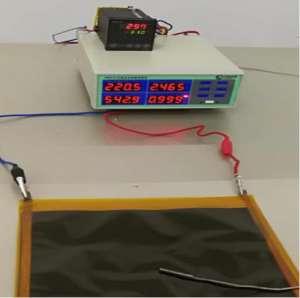 恭喜维特欣达科技石墨烯发热膜发热温度突破350℃